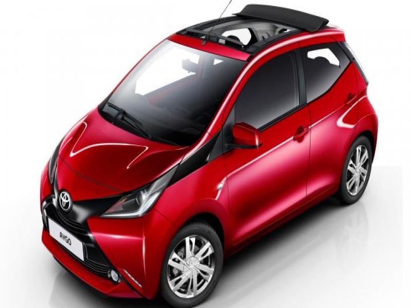 ΤΟΥΟΤΑ AYGO SOFT TOP AUTOMATIC